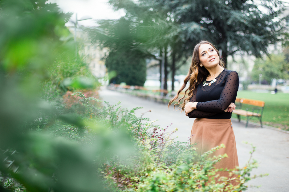 Autumn | Lifestyle portrait shooting in VIenna
